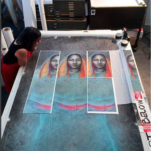 artwork scanning service